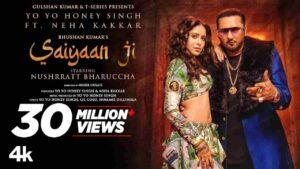 Read more about the article SAIYA JI LYRICS – Honey Singh & Neha Kakkar